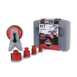 Zestaw DryGres RUBI zestaw 4 koronek wiercenie na sucho (50917)