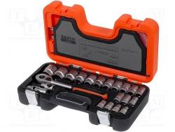 Zestaw nasadek 1/2 bahco z akcesoriami 24 szt. S240