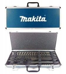 Makita Zestaw dłut i wierteł SDS-plus 10szt. w walizce D-42385