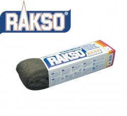 Wełna stalowa Stahlwolle RAKSO 200g granulacja 000