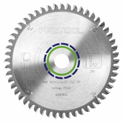 Tarcza pilarska specjalna Festool 160x2,2x20 TF52 496306