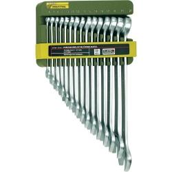 Zestaw 15 kluczy płasko-oczkowych Proxxon 6-21 PR 23821