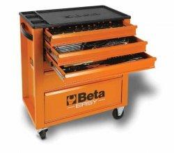 Wózek narzędziowy 2400/C24E6 z zestawem 146 narzędzi BETA EASY