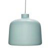 Hübsch SOFT Lampa Wisząca z Aluminium - Zielona ...
