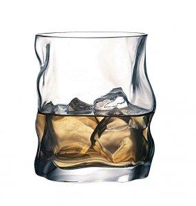 Bormioli Rocco SORGENTE Szklanki do Whisky, Drinków 420 ml