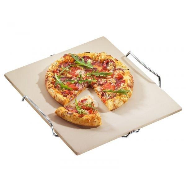 Küchenprofi - Kamień do Pieczenia Pizzy na Stalowym Stojaku