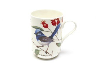 Birds of Australia - Kubek Chwostka Modra Jasny