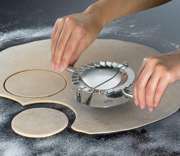 Küchenprofi Wykrawacz Zaciskacz Forma do Pierogów 10 cm