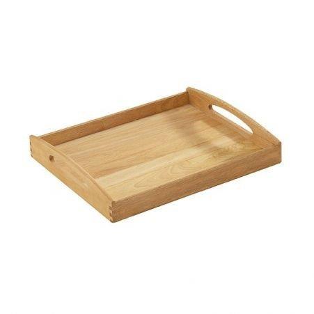Taca z Drewna Kuaczukowego Mała 44x36 cm