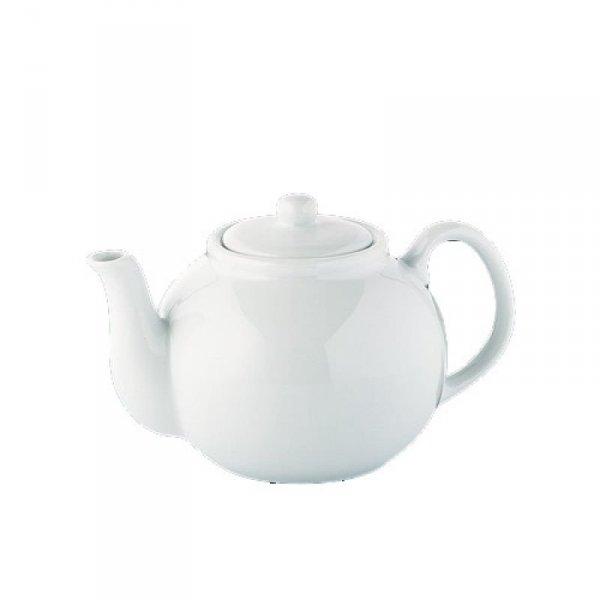 Cilio Porcelanowy Dzbanek do Herbaty 1,25 l Biały