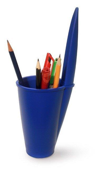 J-me Lid Pojemnik na Długopisy Design z UK - Niebieski