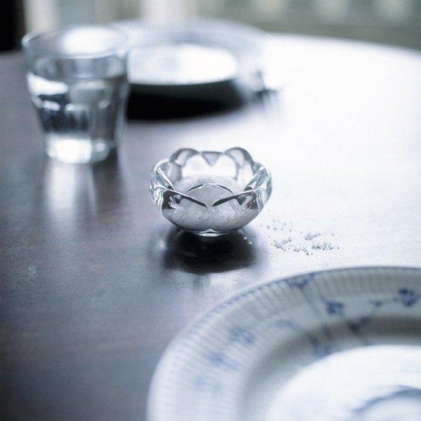 Holmegaard Lotus - Świecznik Biały 9 cm