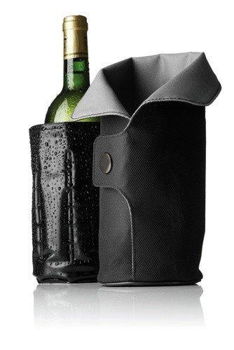 Menu VIGNON Chłodzące Okrycie do Butelki Wina - Czarno-Szare