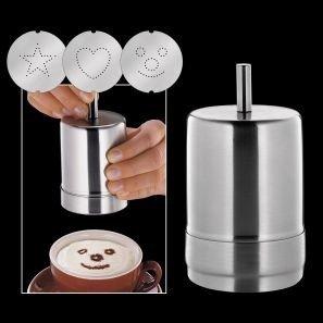 Cilio - Stalowy Dekorator do Kawy Choco-Latte