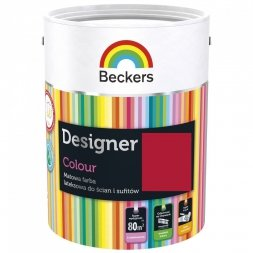 Beckers Designer Colour RED DELUXE 5l