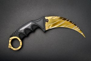 FadeCase Karambit Elite Tiger Tooth