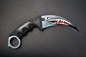FadeCase Karambit Elite Spit Fire