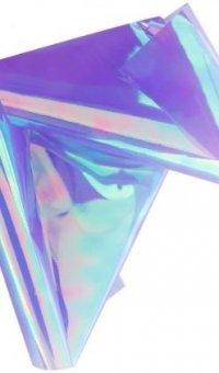 Efekt szkła glass effect folia transferowa fiolet ciemny