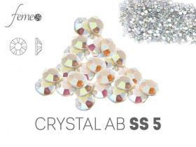 Cyrkonie Swarovski SS5 Crystal AB OPAL 50 sztuk