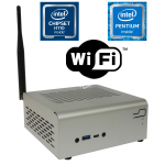 Komputer µForce STX Biuro / Intel Pentium / 4GB RAM / 120GB SSD / WiFi / Mini-STX