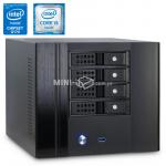 Komputer µForce Serwer NAS 10Gb/s LAN Intel i5-6400 8GB RAM 240GB SSD Mini-ITX