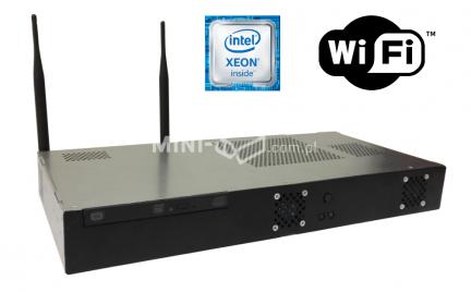 Komputer µForce Serwer Rack Intel Xeon E3-1220v5 8GB RAM 240GB SSD WiFi Mini-ITX