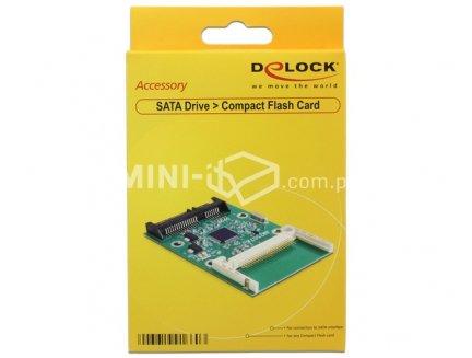 Adapter SATA na Compact Flash Delock