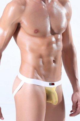 Jock Strap BODY GMW Ultra Mesh Yellow