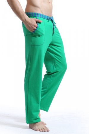 WJ Soft Touch Long Training Pants (Green)