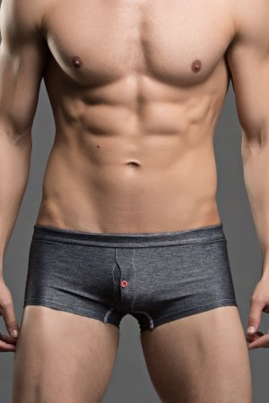 SuperBody Jeans Grey Boxer Briefs