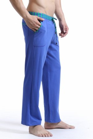 WJ Soft Touch Long Training Pants (Blue)