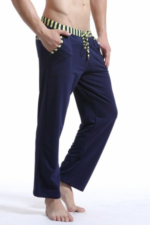 WJ Soft Touch Long Training Pants (Navy)