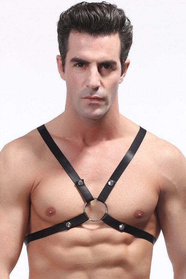 Chest Harness Black