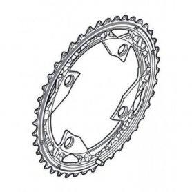 Tarcza mechanizmu korbowego Shimano Deore FC-M590 44T srebrna