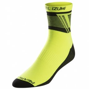 Skarpetki Pearl Izumi Elite Ascend Screaming Yellow M
