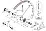 Obręcz Shimano 27.5 do WHM785-F15-275 24H czarna