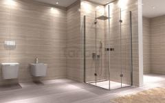 Rea - Kabina prysznicowa z podwójnymi drzwiami składanymi DOUBLE MYSPACE Premium