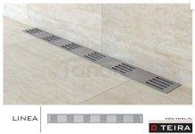 TEIRA - Odpływ liniowy LINEA z syfonem