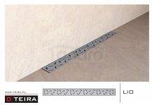 TEIRA - Odpływ liniowy LIO z syfonem