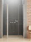 New Trendy - Drzwi prysznicowe pojedyncze uchylne NEW SOLEO PLUS z podwójną ścianką / Linia Gold