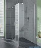 Kermi Filia Xp Ściana boczna, szkło przezroczyste KermiClean, profile srebrne 75x200cm FXUWD07520VPK
