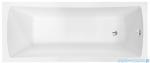 Besco Optima 140x70cm wanna prostokątna + obudowa + syfon #WAO-140-PK/#OAO-140-PK/19975