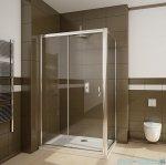 Radaway Premium Plus DWJ+S kabina prysznicowa 120x100cm szkło brązowe 33313-01-08N/33423-01-08N