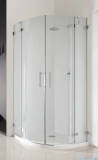 Radaway Euphoria PDD E Kabina prysznicowa 90x80 szkło przejrzyste 383001-01L/383002-01R