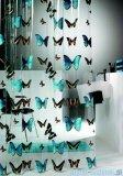 Sealskin Butterfly zasłona prysznicowa PCV 180x200cm 210571302
