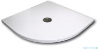 Schedpol De Luxe brodzik półokrągły z syfonem 90x90x4cm 3.041
