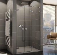Sanswiss Melia ME32 Drzwi prysznicowe prawe z uchwytami i profilem do 200cm przejrzyste ME32ADSM21007