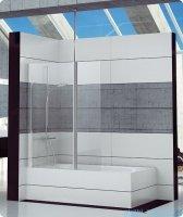 SanSwiss Fun Fbd2 Ścianka 1-częściowa nawannowa 70cm profil połysk FBD207005007