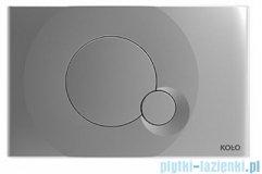 Koło City przycisk spłukujący do stelaża Technic GT do WC chrom mat 94162-003