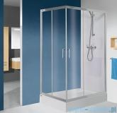 Sanplast TX KN/TX5b kabina prostokątna 80x90x190 cm przejrzysta 600-271-0190-38-401